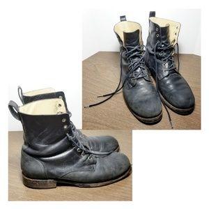 "FRYE ""Rogan"" Men's Leather, Lace-up Boots"